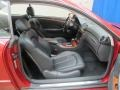 Front Seat of 2005 CLK 320 Coupe