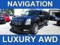 2011 Black Raven Cadillac Escalade ESV Luxury AWD #94679048
