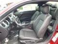 2014 Ford Mustang Charcoal Black Interior Interior Photo