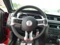 2014 Ford Mustang Charcoal Black Interior Steering Wheel Photo