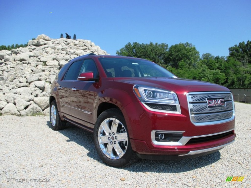 2015 crimson red tincoat gmc acadia denali awd 94701610 car color galleries. Black Bedroom Furniture Sets. Home Design Ideas