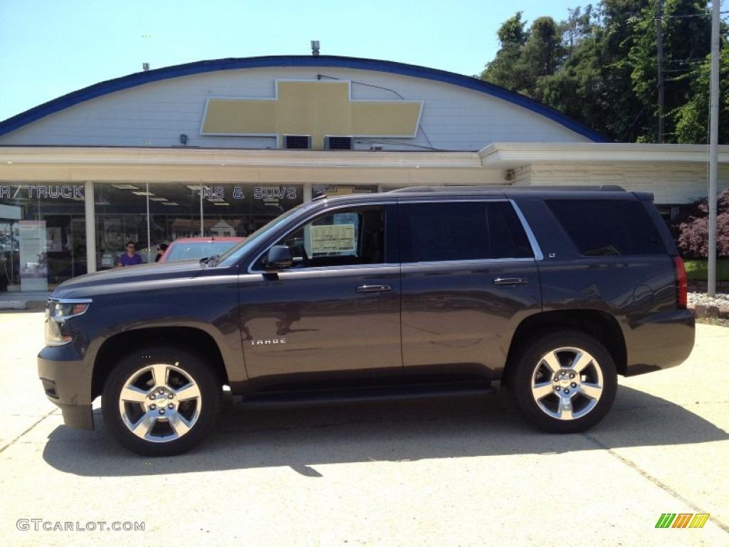 2015 Tungsten Metallic Chevrolet Tahoe Lt 4wd 94729655 Photo 3 Nissan Armada Towing Wiring Harness Jet Black