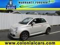Bianco Perla (Pearl White) 2012 Fiat 500 Sport