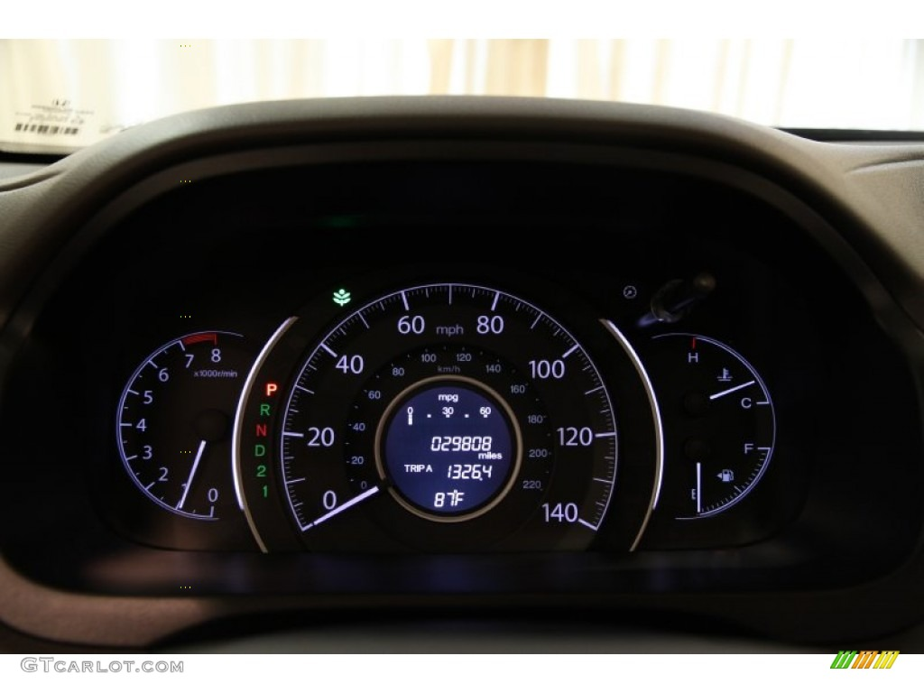 2012 Honda CR-V EX-L 4WD Gauges Photos