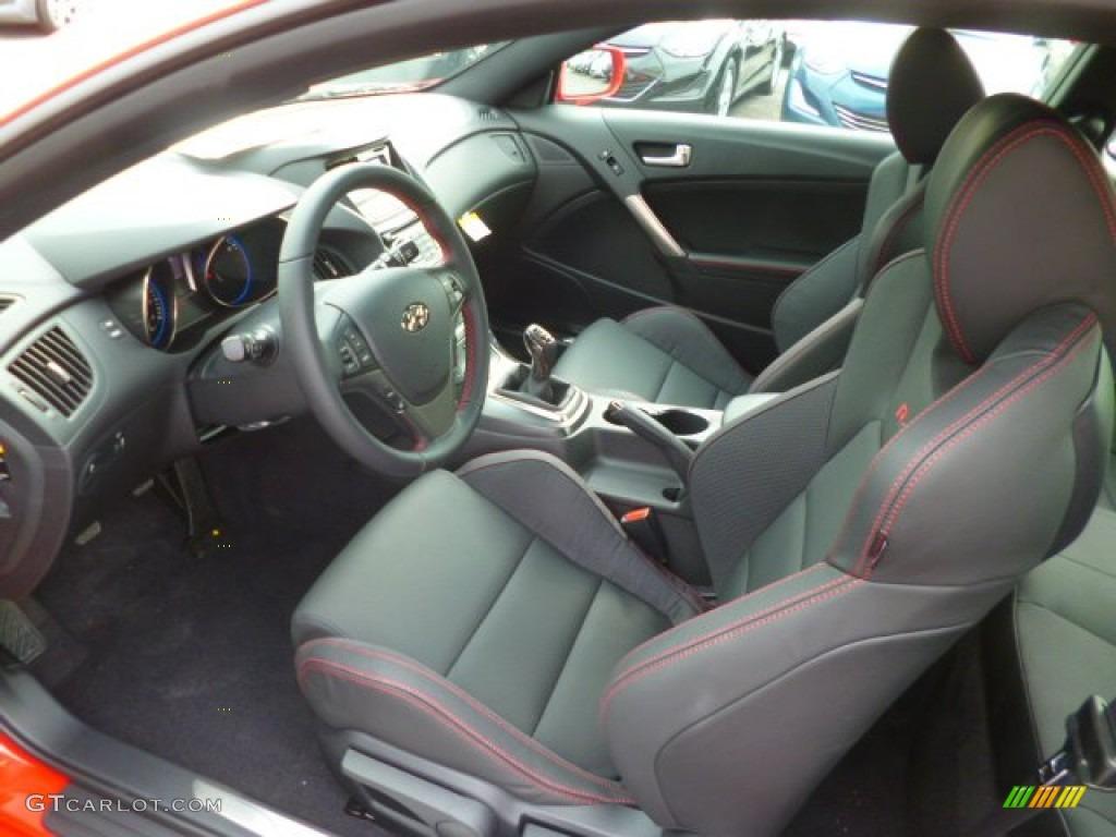 R spec black red interior 2014 hyundai genesis coupe 2 0t r spec