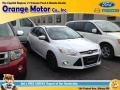 Oxford White 2013 Ford Focus SE Hatchback