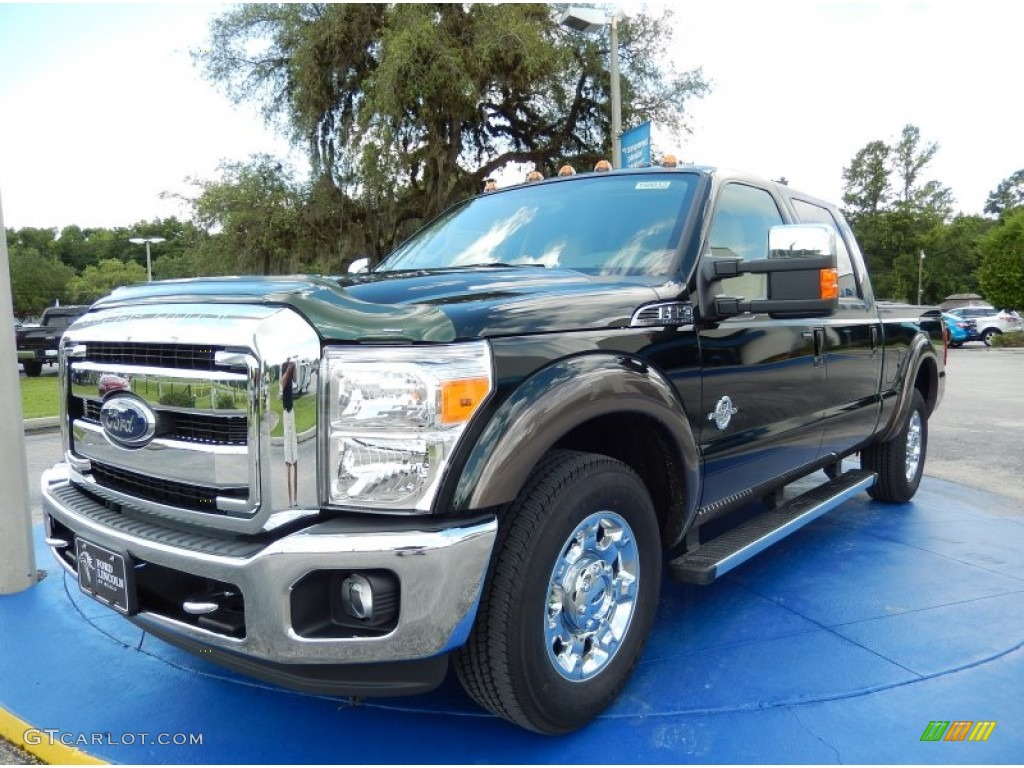 2015 green gem ford f350 super duty lariat crew cab 94772852 car color galleries. Black Bedroom Furniture Sets. Home Design Ideas
