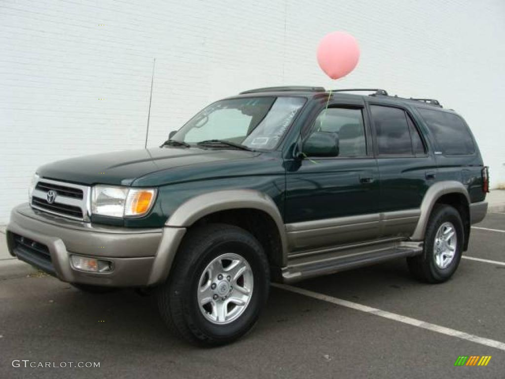 Exceptional 2000 4Runner Limited 4x4   Imperial Jade Mica / Oak Photo #1