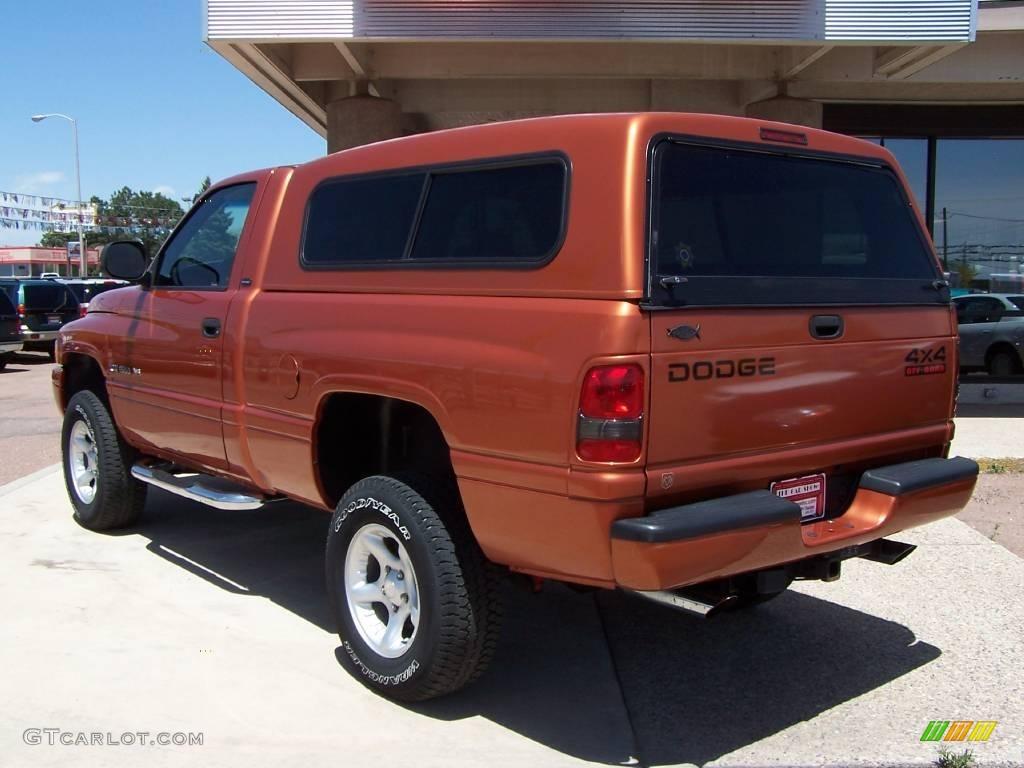 2001 amber fire pearlcoat dodge ram 1500 sport regular cab 4x4 9473138 photo 4. Black Bedroom Furniture Sets. Home Design Ideas