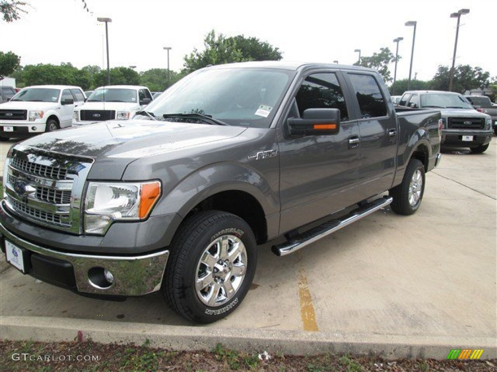 2014 sterling grey ford f150 xlt supercrew 94807084 car color galleries. Black Bedroom Furniture Sets. Home Design Ideas