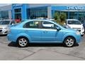 Icelandic Blue 2007 Chevrolet Aveo LT Sedan