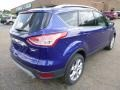 2014 Deep Impact Blue Ford Escape Titanium 2.0L EcoBoost 4WD  photo #2