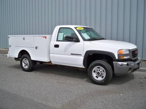 2007 GMC Sierra 2500HD Classic Regular Cab Chassis Data, Info and Specs