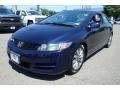 Royal Blue Pearl 2009 Honda Civic EX Coupe