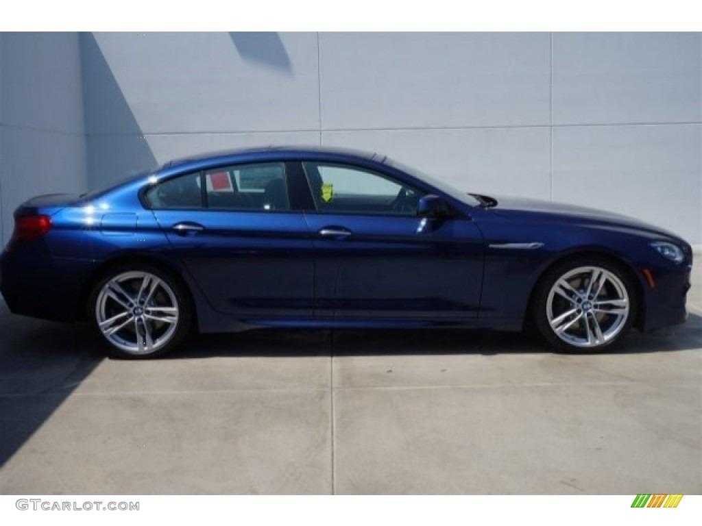 2015 Deep Sea Blue Metallic Bmw 6 Series 640i Gran Coupe