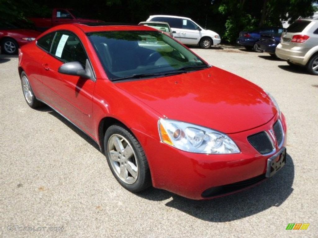 Crimson Red 2006 Pontiac G6 Gt Coupe Exterior Photo 94934394 Gtcarlot Com