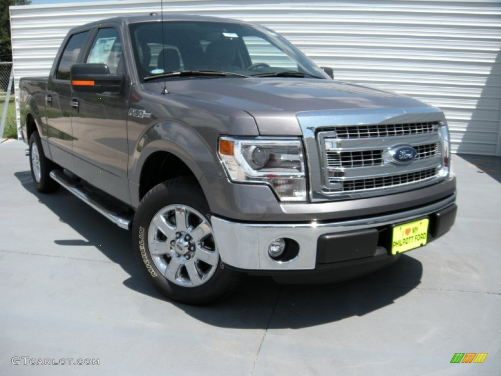 2014 sterling grey ford f150 xlt supercrew 94951136 car color galleries. Black Bedroom Furniture Sets. Home Design Ideas