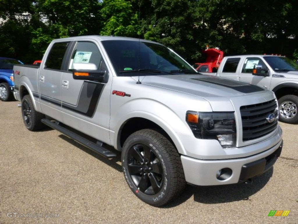 2014 ingot silver ford f150 fx4 supercrew 4x4 94951009 photo 2 car color. Black Bedroom Furniture Sets. Home Design Ideas