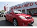 Radiant Red 2007 Toyota Matrix Gallery