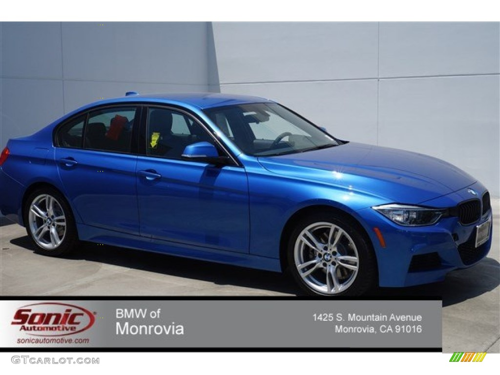 2014 estoril blue bmw 3 series 328i sedan 94951154 car color galleries. Black Bedroom Furniture Sets. Home Design Ideas