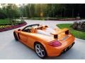 Metallic Orange Paint to Sample 2005 Porsche Carrera GT