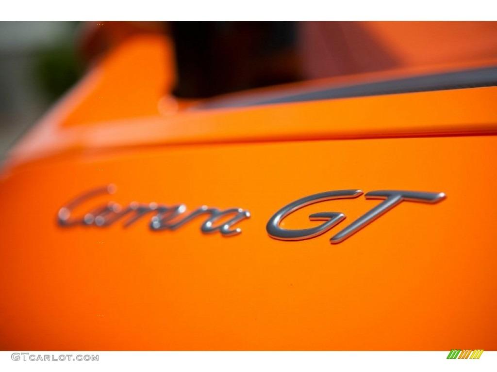 2005 Metallic Orange Paint To Sample Porsche Carrera Gt