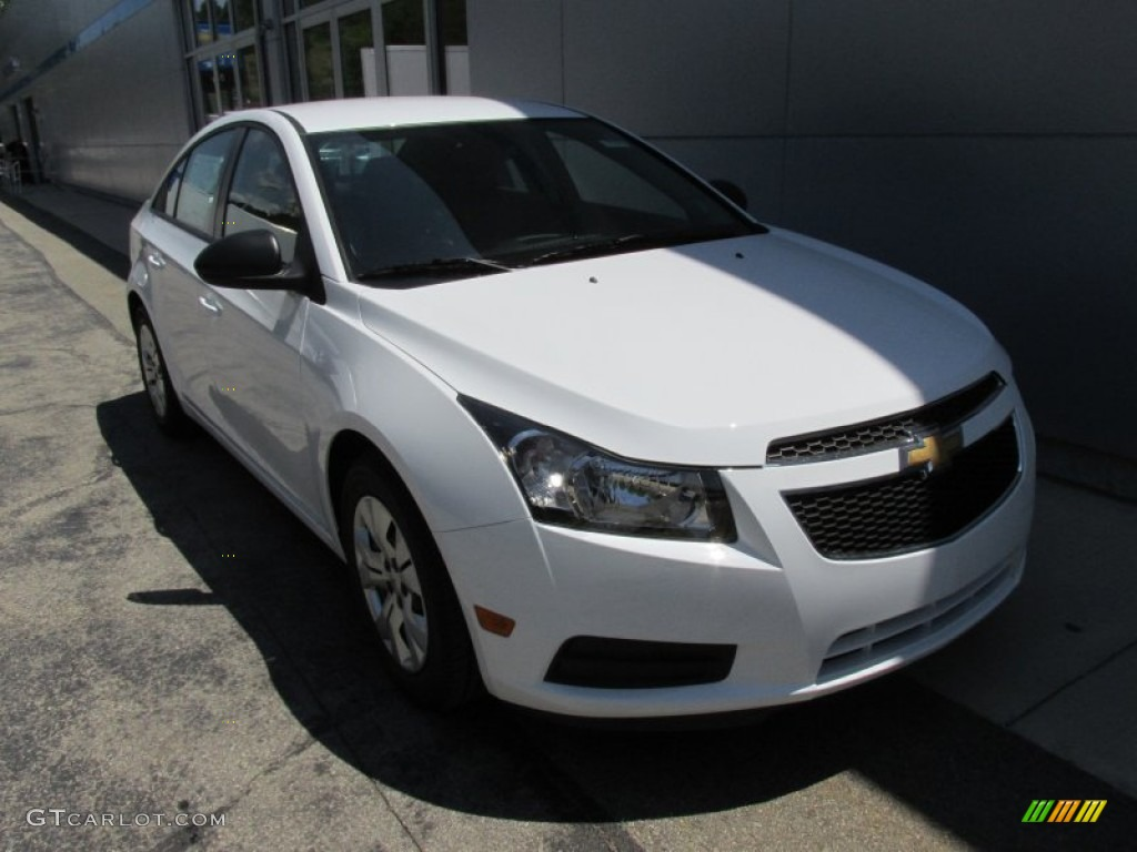 summit white 2014 chevrolet cruze ls exterior photo 95003053. Black Bedroom Furniture Sets. Home Design Ideas