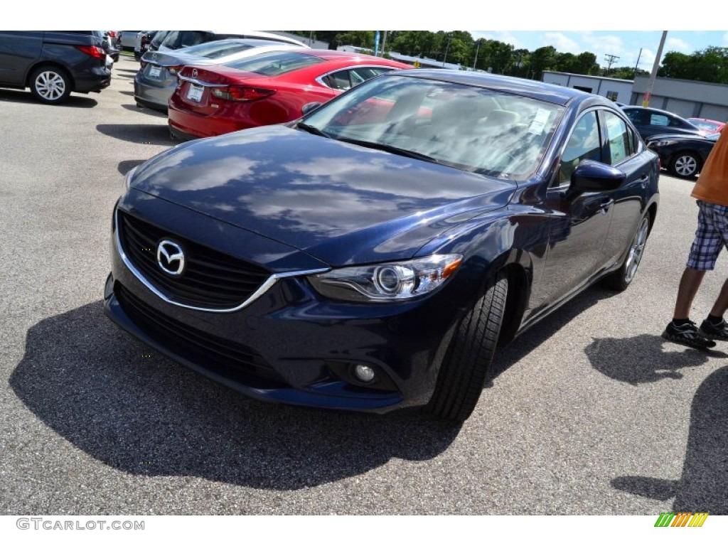2015 Deep Crystal Blue Mazda Mazda6 Grand Touring ...