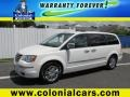 Stone White 2010 Chrysler Town & Country Limited