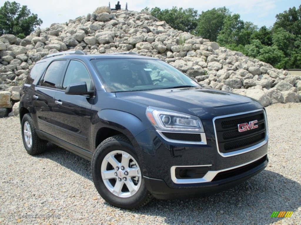 2015 dark sapphire blue metallic gmc acadia sle 94998380 car color galleries. Black Bedroom Furniture Sets. Home Design Ideas