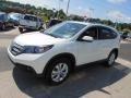2012 White Diamond Pearl Honda CR-V EX-L 4WD  photo #6