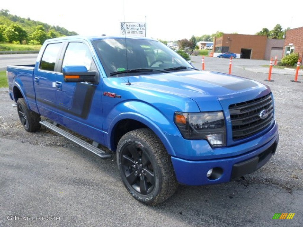 2014 blue flame ford f150 fx4 supercrew 4x4 95042541 photo 2 car color galleries. Black Bedroom Furniture Sets. Home Design Ideas