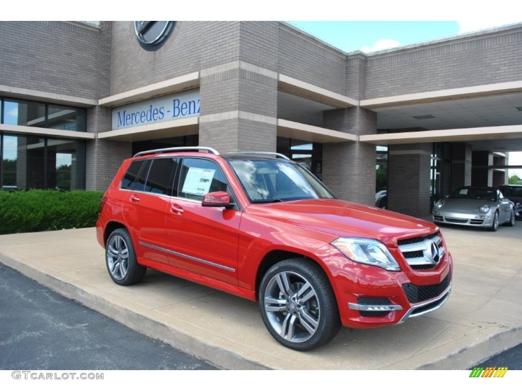 2015 Mars Red Mercedes Benz Glk 350 4matic 95042947