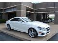 Diamond White Metallic 2014 Mercedes-Benz CLS 550 4Matic Coupe