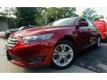 Ruby Red Metallic 2013 Ford Taurus SEL