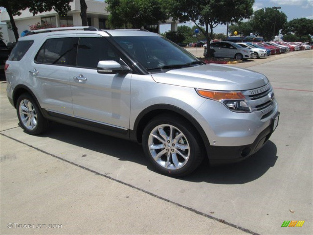 2015 explorer limited ingot silver charcoal black photo 1 - New 2015 Ford Explorer Black Color
