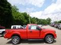 Race Red - F150 STX Regular Cab 4x4 Photo No. 1