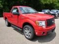 Race Red - F150 STX Regular Cab 4x4 Photo No. 2