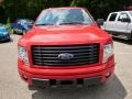 Race Red - F150 STX Regular Cab 4x4 Photo No. 3