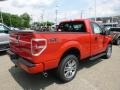 Race Red - F150 STX Regular Cab 4x4 Photo No. 8