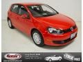 Tornado Red 2012 Volkswagen Golf 4 Door
