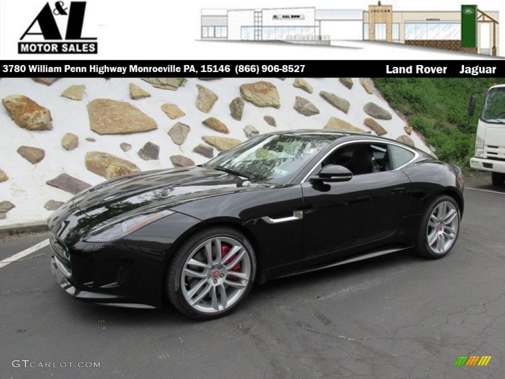 jaguar f type r coupe black - photo #31