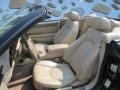 2002 Jaguar XK Oatmeal Interior Front Seat Photo