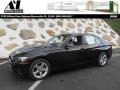 Jet Black 2014 BMW 3 Series 328i xDrive Sedan