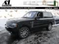 Santorini Black Metallic 2011 Land Rover Range Rover Supercharged