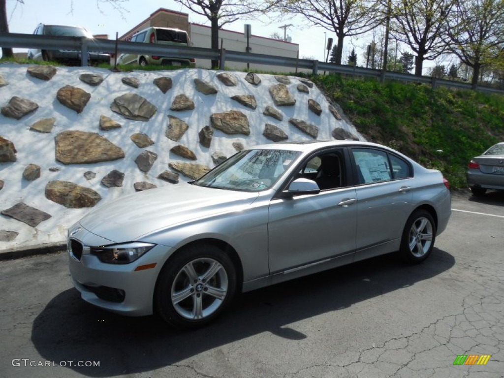 2014 Orion Silver Metallic BMW 3 Series 320i xDrive Sedan ...