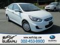 Century White 2012 Hyundai Accent GLS 4 Door