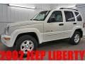 Stone White 2002 Jeep Liberty Limited 4x4