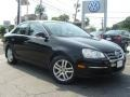 Black 2010 Volkswagen Jetta TDI Sedan