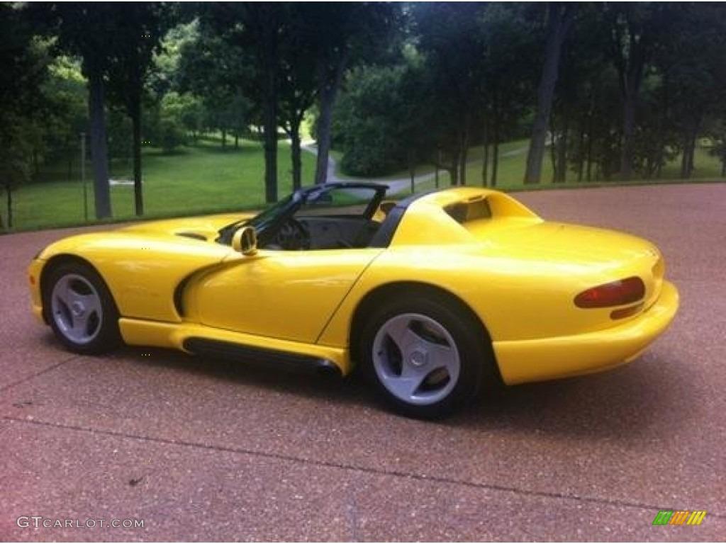 Dandelion yellow 1994 dodge viper rt 10 exterior photo 95173388 gtcarlot com